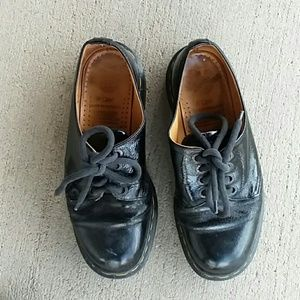Dr martens made in England loafers dress shoes w 8